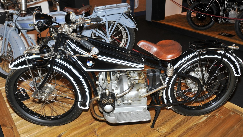 BMW R32 vintage motorcycle