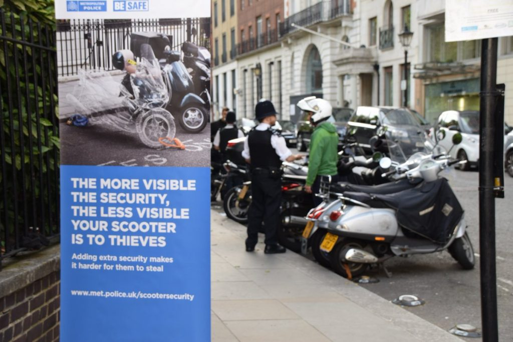 Moped thefts London