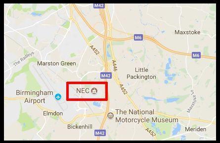 Directions to NEC Birmingham