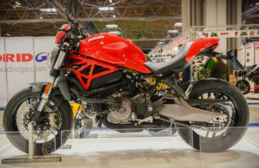 Ducati at NEC bike show