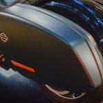 Harley Davidson Softail Sport Glide pannier