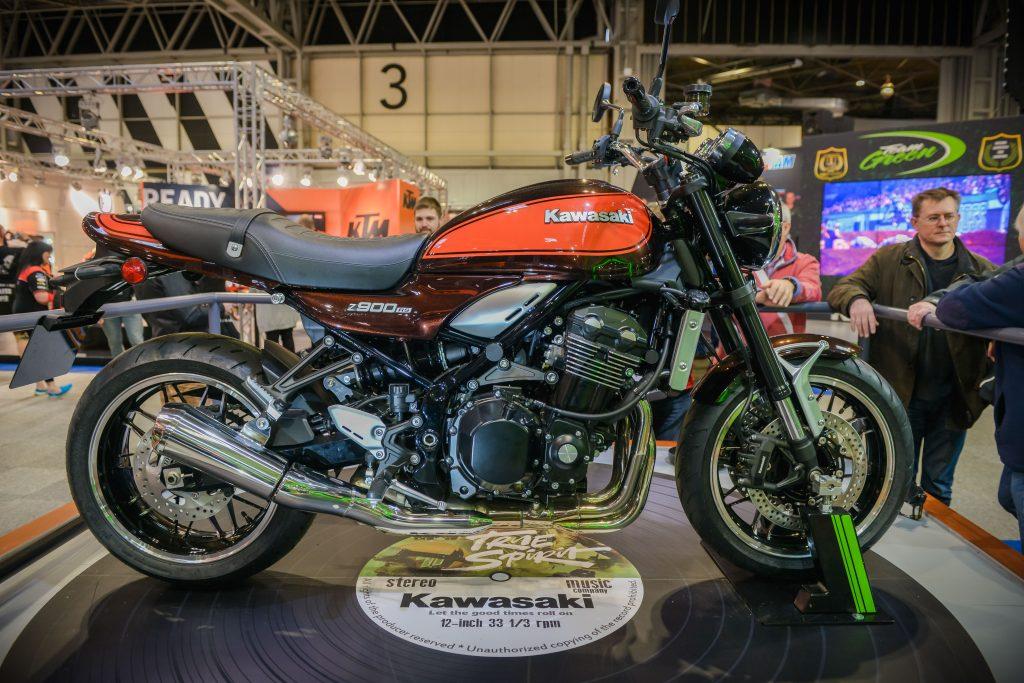 Kawasaki NEC bike show