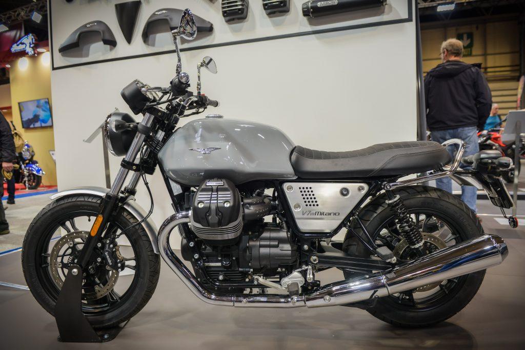NEC bike show Moto Guzzi