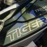 Triumph Tiger 800XC tank