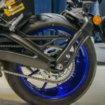 Yamaha MT09SP rear wheel