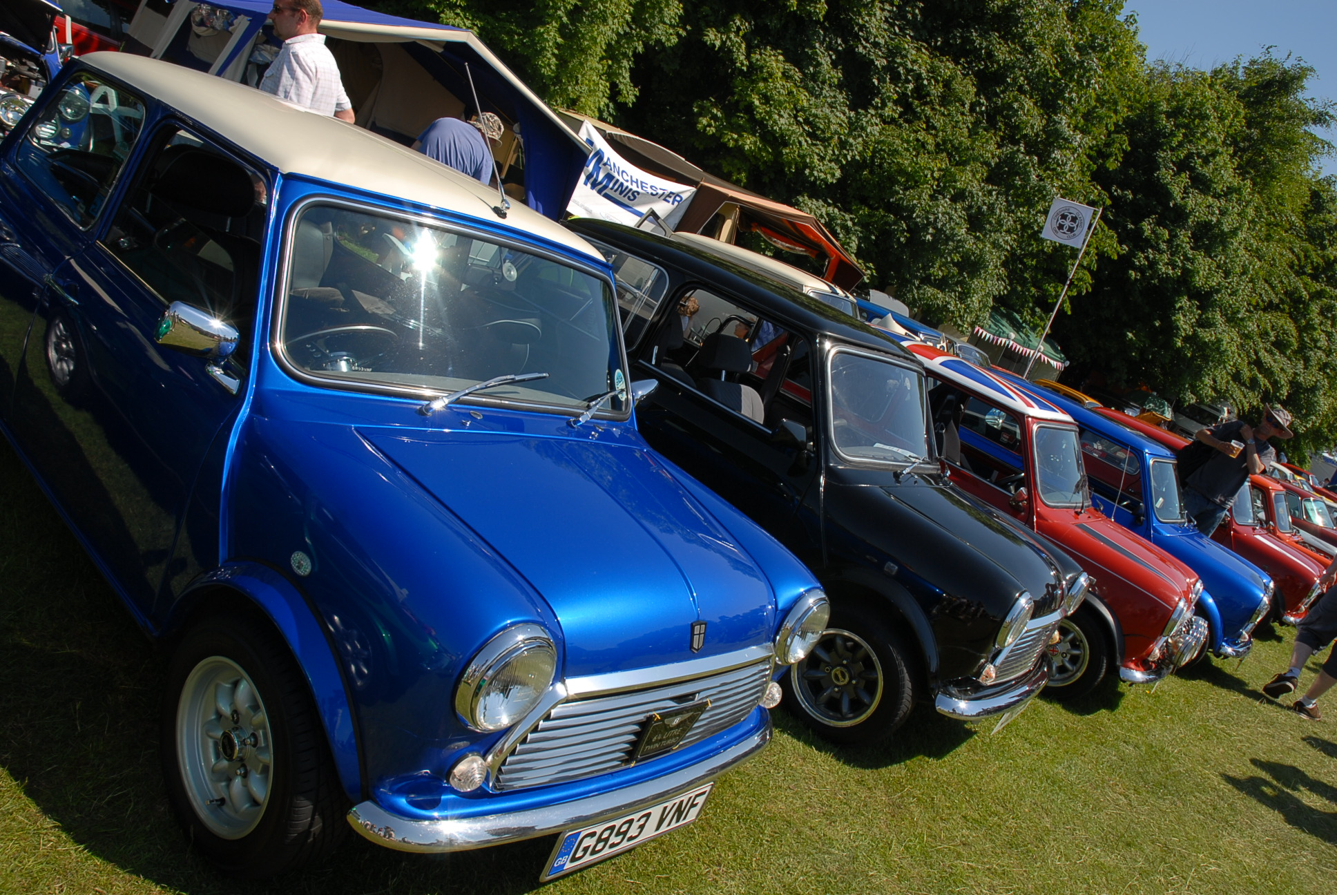 Classic car show Cheshire
