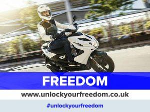 #unlockyourfreedom