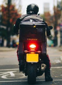scooter courier insurance
